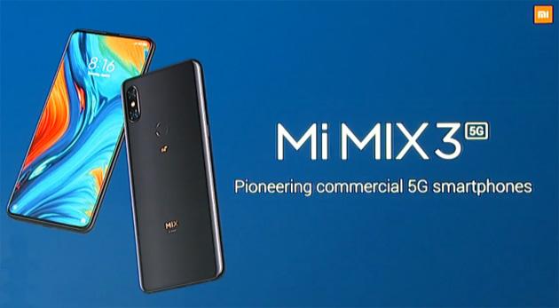 Xiaomi Mi Mix 3 5G con Snapdragon 855 in arrivo con 3, Vodafone e TIM