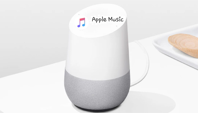 Apple Music su Google Home con Assistant