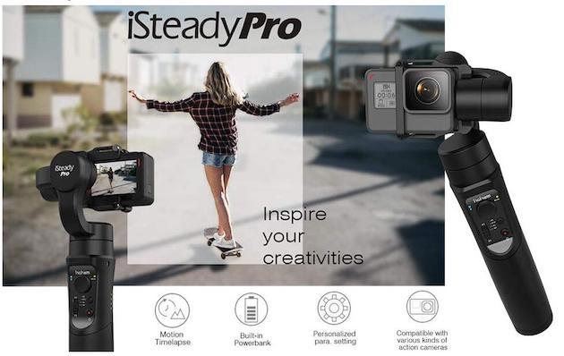 Stabilizzatori per Smartphone ed action cam in offerta, video perfetti per tutti