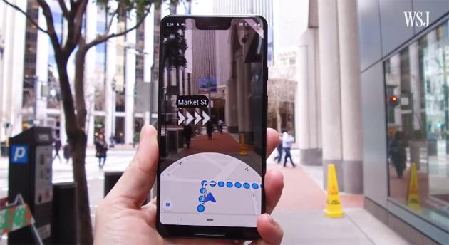 Google Maps AR trasforma la navigazione a piedi, ora per tutti