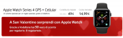Foto Vodafone per San Valentino sconta Apple Watch 4 Cellular di 50 euro