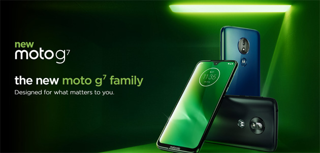 Motorola Moto G7, ufficiale la serie con Moto G7, G7 Plus, G7 Play e G7 Power