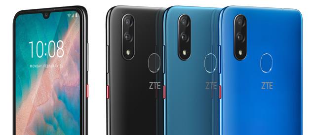 ZTE Blade V10 con AI Smart Selfie da 32 MP e CPU Octa-Core annunciato al MWC 2019