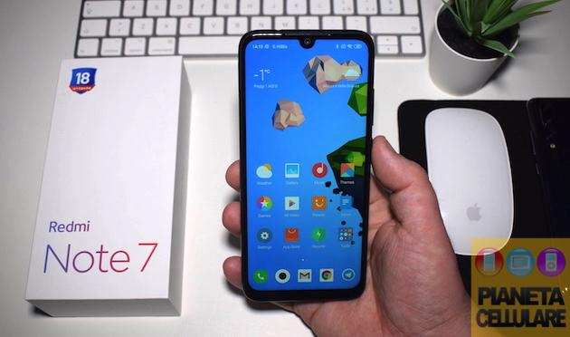 Recensione Redmi Note 7 by Xiaomi, di fascia media ma con 48 mpx