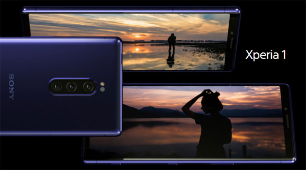 Foto Sony Xperia 1 con display 4K OLED mobile e tripla camera in preordine in Europa