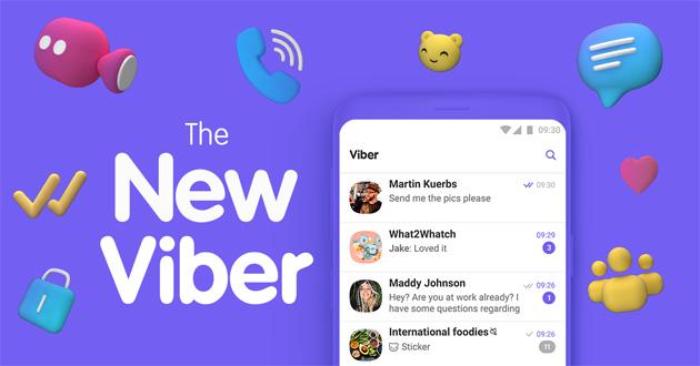Viber 10 con nuova Grafica e Chat con numeri nascosti disponibile. Chiamate di gruppo in arrivo