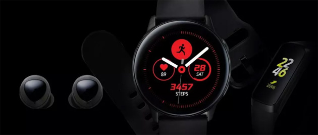 Foto Samsung Galaxy Watch Active rivelato, annuncio imminente