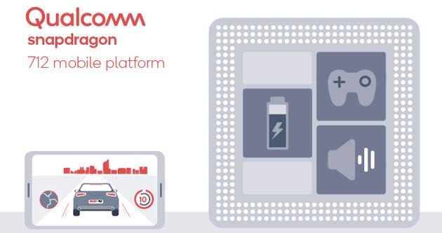 Qualcomm Snapdragon 712 ufficiale per smartphone potenti, intelligenti e da gioco