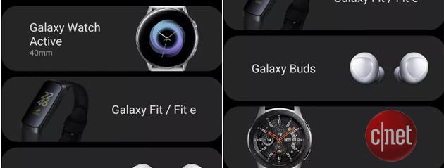 Samsung Galaxy Buds, Galaxy Fit e Fit E confermati