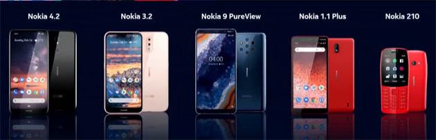 Nokia al MWC 2019, tutti gli annunci: Nokia 9 PureView, Nokia 1 Plus, Nokia 4.2, Nokia 3.2, Nokia 210 e non solo