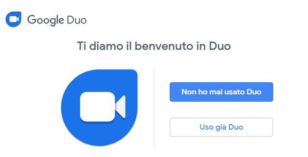 Google Duo per il Web consente di videochiamare tramite Computer