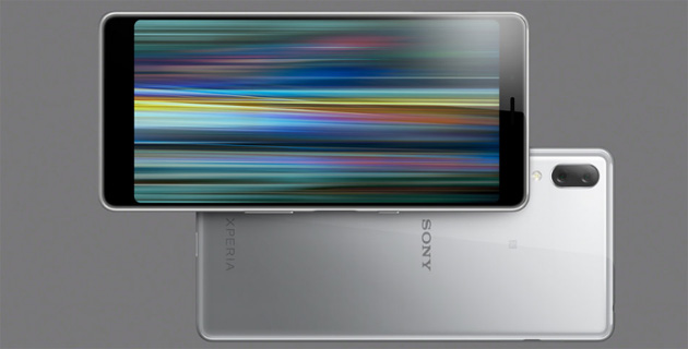 Foto Sony Xperia L3, smartphone con display 18:9 e dual camera
