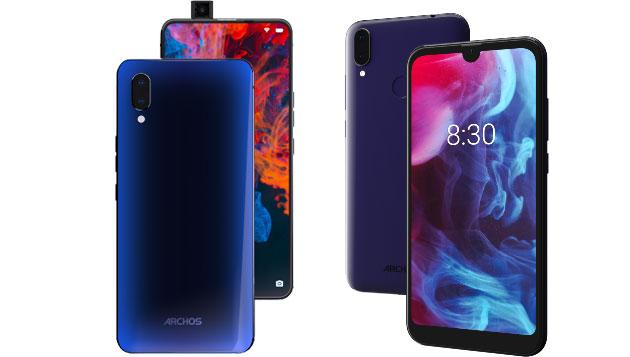 Archos Diamond e Oxygen 57, 63 e 68XL annunciati al MWC 2019: uno smartphone ha la selfiecamera pop-up