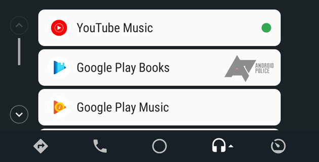 Foto Youtube Music su Android Auto