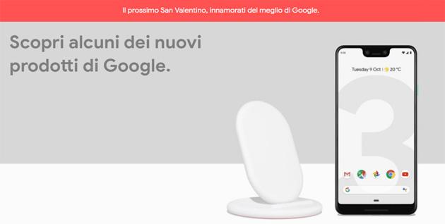 Google per San Valentino 2019: regali su Google Store e sconti su Play Store
