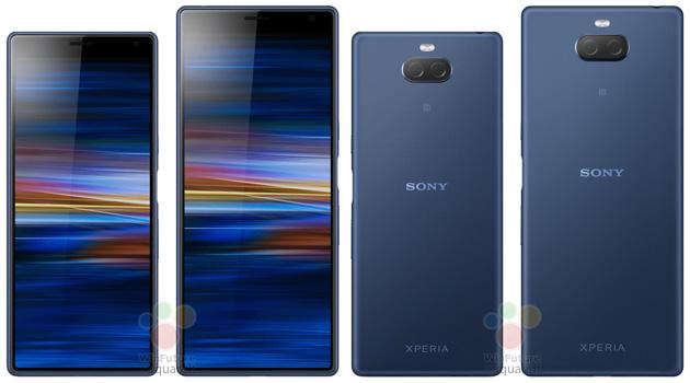 Sony Xperia XA3 e XA3 Ultra in nuovi render