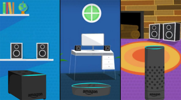Amazon Echo, come riprodurre Musica multistanza