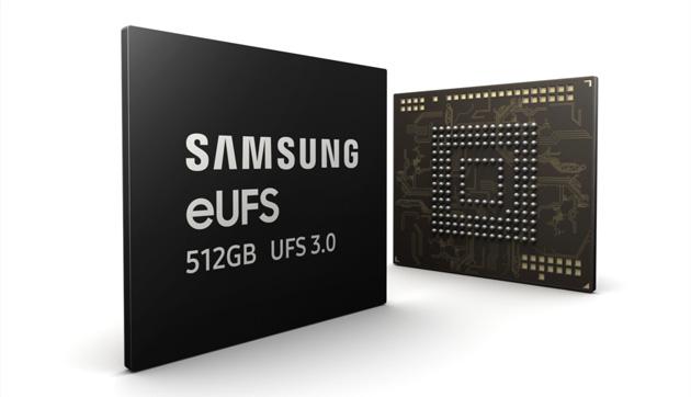 Samsung eUFS 3.0 raddoppia la velocita' di storage per smartphone