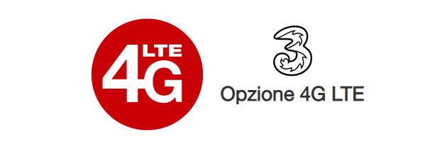 3 include Opzione 4G LTE gratis ai nuovi clienti