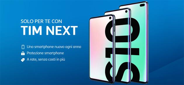 TIM Next per cambiare smartphone ogni anno tra Huawei P30, Galaxy S10 e iPhone