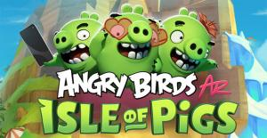 Angry Birds AR: Isle of Pigs in arrivo su iPhone e iPad con ARKit