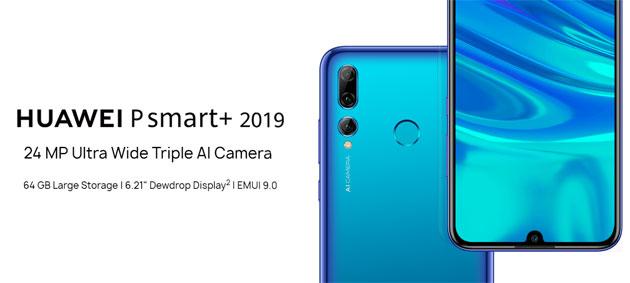 Huawei P Smart+ 2019 con tripla camera posteriore in Italia (Huawei Maimang 8)