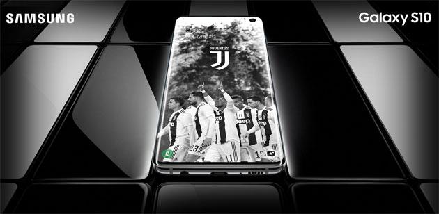 Samsung Galaxy S10 Juventus Special Edition in Italia