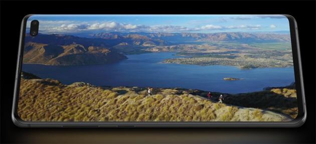 Samsung Galaxy S10, focus sul Display da record
