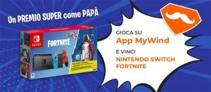 Wind regala Nintendo Switch Fortnite