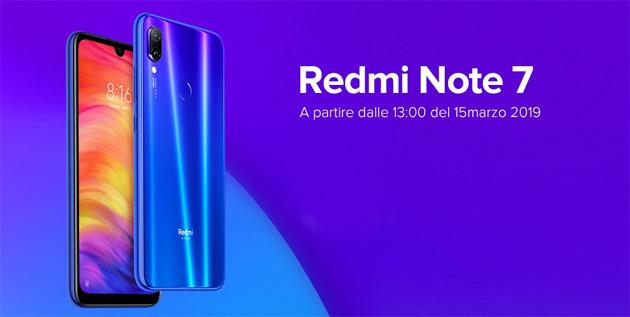 Redmi Note 7 con notch a goccia e camera da 48MP in Italia: Specifiche, Foto, Video e Prezzi