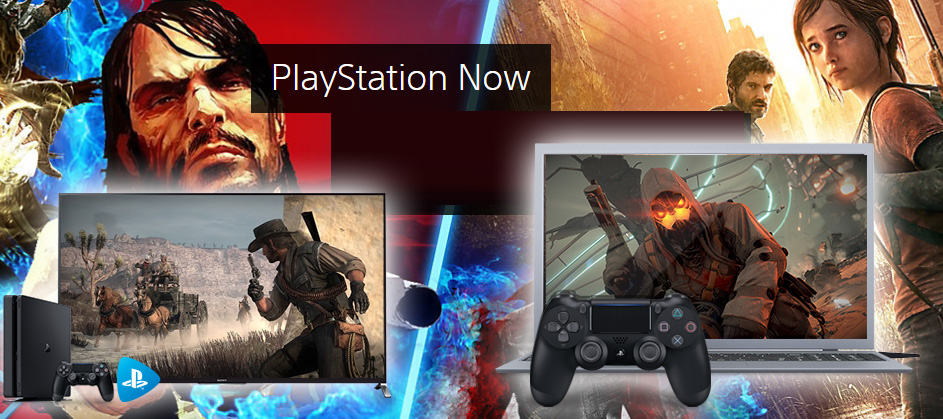 Foto PlayStation Now su console PS4 e PC Windows in Italia