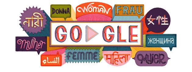 Google Doodle per la Giornata della Donna 2019