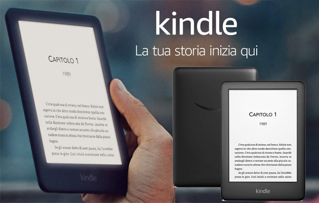 Foto Amazon, Kindle 2019 con luce frontale ora disponibile