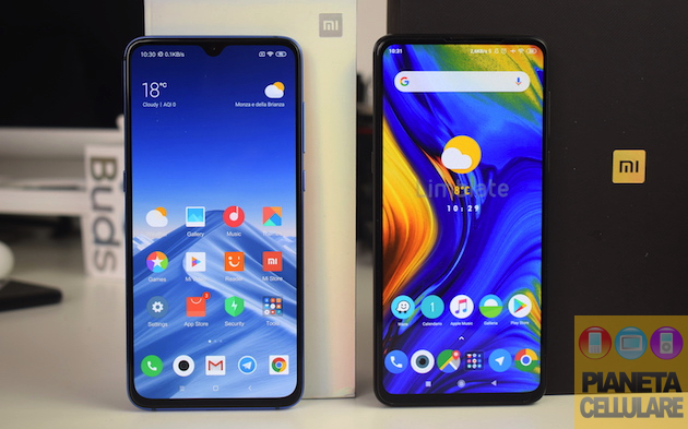 Foto Xiaomi Mi 9 vs Xiaomi Mi Mix 3, il nostro confronto video