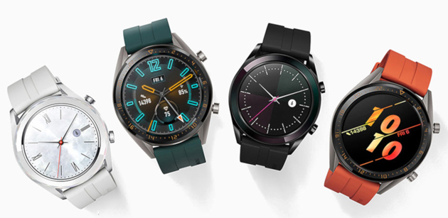 Foto Huawei Watch GT Active ed Elegant in Italia