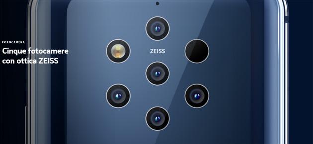 Foto Nokia 9.1 PureView atteso a fine anno con Snapdragon 855 e comparto fotografico migliore