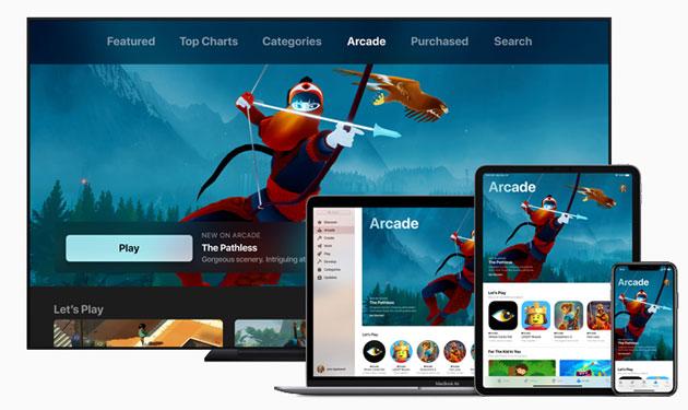 Apple Arcade, servizio di giochi in abbonamento per dispositivi mobili, desktop e televisori