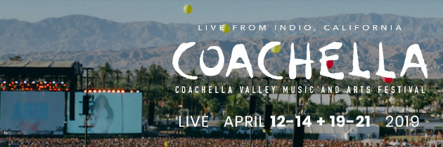 Foto Coachella 2019 su Youtube e Youtube Music