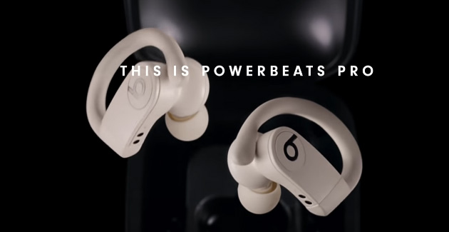 PowerBeats Pro le prime cuffie Beats veramente wireless