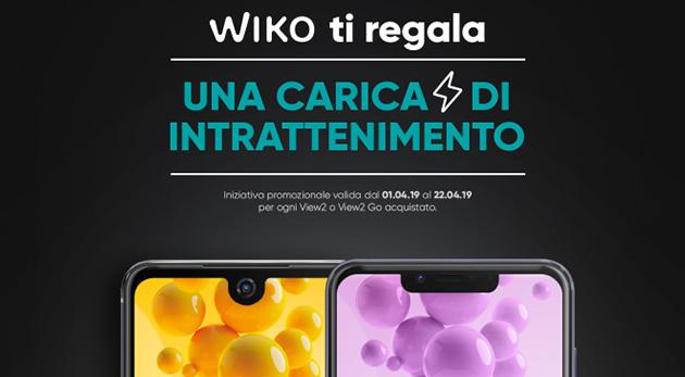Wiko regala credito Netflix, Spotify, Play Store o PlayStation Store