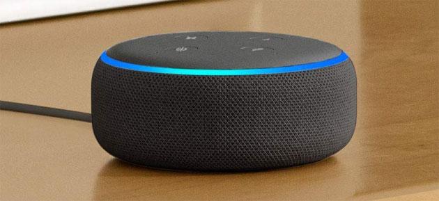 Alexa, anello luminoso su Amazon Echo: cosa significano i colori blu, ciano, rosso, giallo, verde, viola