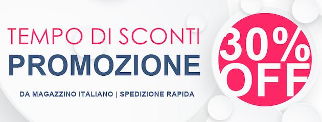 Sconti Xiaomi fino al 30 percento con garanzia in Italia per un periodo limitato