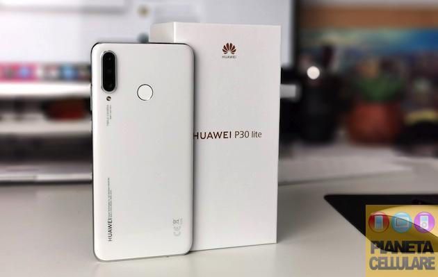 Huawei P30 Lite, unboxing e confronto con P30 e P30 Pro