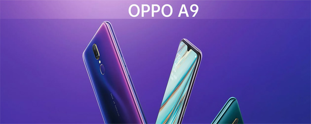 Foto Oppo A9 ufficiale con Helio P70, 6GB RAM, display 6.53 con notch