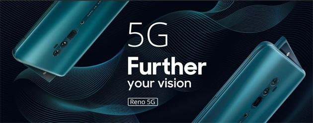 Oppo Reno 5G il primo smartphone 5G Oppo: in vendita da fine maggio