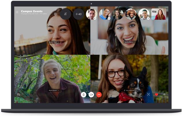 Skype raddoppia limite delle chiamate di gruppo a 50 utenti
