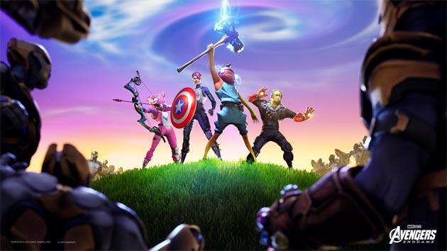 Fortnite: evento Avengers Endgame