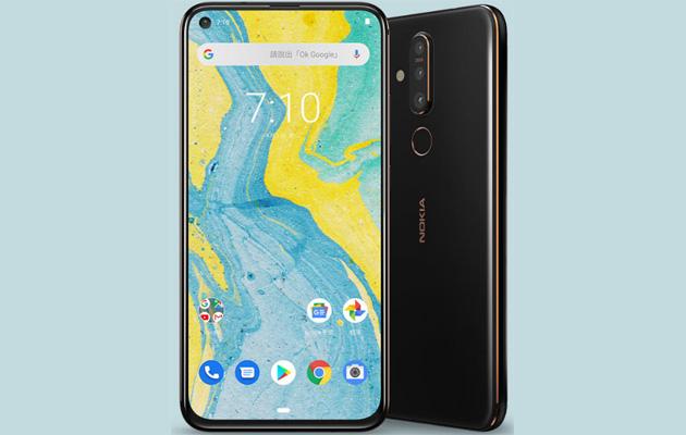 Nokia X71, primo smartphone Nokia con display forato