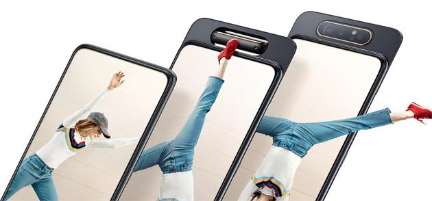 Samsung Galaxy A80 con fotocamera rotante in Italia
