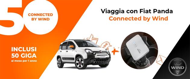 Fiat Panda connected by Wind, la prima Panda con i giga